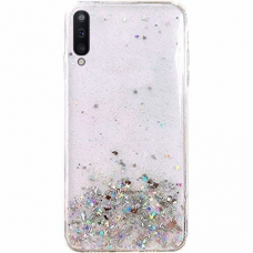 "Blizgus Tpu Dėklas ""Wozinsky Star Glitter"" Samsung Galaxy A70 Skaidrus"