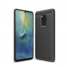 "LANKSTUS TPU DĖKLAS ""CARBON CASE FLEXIBLE"" HUAWEI MATE 20 JUODAS ML28"