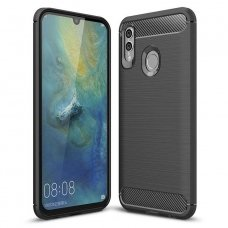 "LANKSTUS TPU DĖKLAS ""CARBON CASE FLEXIBLE"" HUAWEI P SMART PLUS 2019 / HONOR 10 LITE JUODAS AB05"