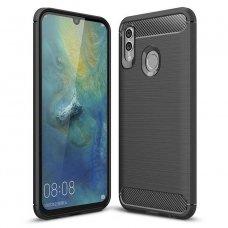 "Lankstus Tpu Dėklas ""Carbon Case Flexible"" Huawei P Smart Plus 2019 / Honor 10 Lite Juodas"