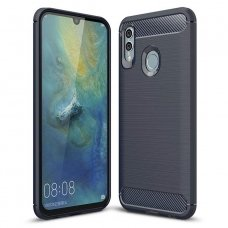 "LANKSTUS TPU DĖKLAS ""CARBON CASE FLEXIBLE"" HUAWEI P SMART PLUS 2019 / HONOR 10 LITE MĖLYNAS AB05"