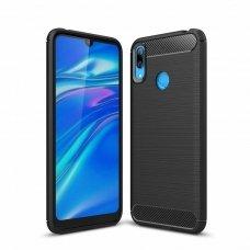 "Lankstus Tpu Dėklas ""Carbon Case Flexible"" Huawei Y6 2019 Juodas"