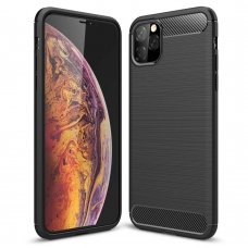 "LANKSTUS TPU DĖKLAS ""CARBON CASE FLEXIBLE"" IPHONE 11 PRO MAX JUODAS RM95"