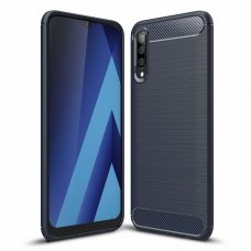 "Lankstus Tpu Dėklas ""Carbon Case Flexible"" Samsung Galaxy A50 Mėlynas"