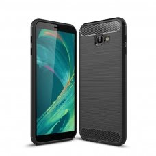 "Lankstus Tpu Dėklas ""Carbon Case Flexible"" Samsung Galaxy J4 Plus 2018 J415 Juodas"
