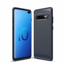 "LANKSTUS TPU DĖKLAS ""CARBON CASE FLEXIBLE"" SAMSUNG GALAXY S10 PLUS MĖLYNAS"