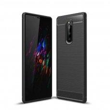 """Lankstus Tpu Dėklas """"Carbon Case Flexible"""" Sony Xperia 1 Juodas 7"""