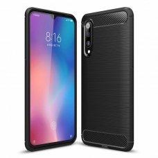 "Lankstus Tpu Dėklas ""Carbon Case Flexible"" Xiaomi Mi 9 Se Juodas"