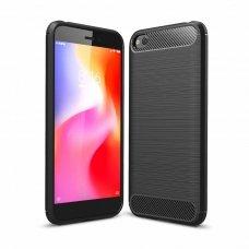 """Lankstus Tpu Dėklas """"Carbon Case Flexible"""" Xiaomi Redmi Go Juodas"""