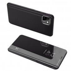 Clear View Case Atverčiamas Dėklas Huawei Y5P Juodas