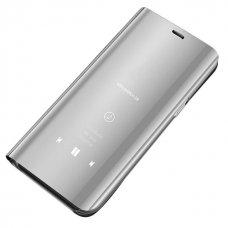 """Atverčiamas Plastikinis Dėklas """"Sview"""" Samsung Galaxy S7 G930 Sidabrinis"""