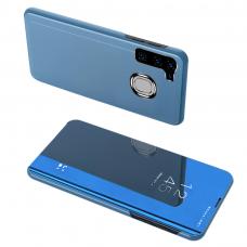 Clear View Case Dėklas Samsung Galaxy A21S Mėlynas