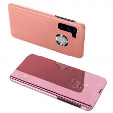 Clear View Dėklas Samsung Galaxy A21S Rožinis