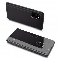 Atverčiamas dėklas Clear View Case cover Samsung Galaxy A32 4G Juodas