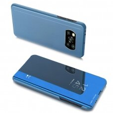 Clear View Case Cover For Xiaomi Poco X3 Nfc Blue