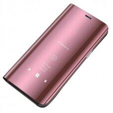 Clear View Dėklas Xiaomi Redmi 9C Rožinis