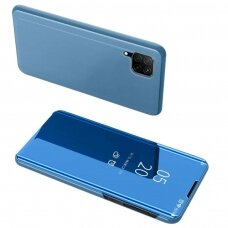 Clear view dėklas Huawei P40 Lite / Nova 7i / Nova 6 SE mėlynas (ctz012) UCS068