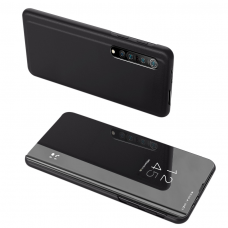 Clear view dėklas Xiaomi Mi 10 Pro / Xiaomi Mi 10 juodas