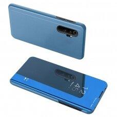 Clear view dėklas Xiaomi Mi 10 Pro / Xiaomi Mi 10 mėlynas