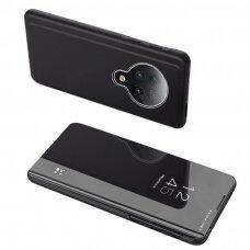 Clear View Dėklas Xiaomi Mi K30 Pro / Poco F2 Pro Juodas