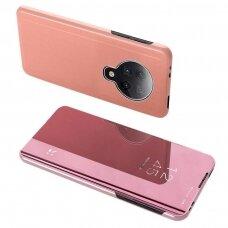 Clear view dėklas Xiaomi mi K30 Pro / Poco F2 Pro rožinis UCS108