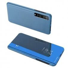 Clear View Dėklas Xiaomi Mi Note 10 Lite Mėlynas