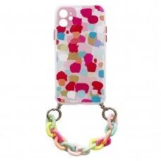 Spalvotas dėklas Color Chain Case iPhone 11 Multicolour