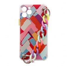 Spalvotas dėklas Color Chain Case iPhone 11 Multicolour2