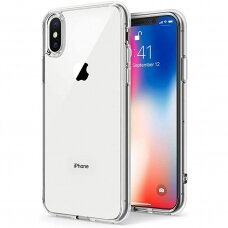 Dėklas 3MK Clear Case 1,2mm Apple iPhone X