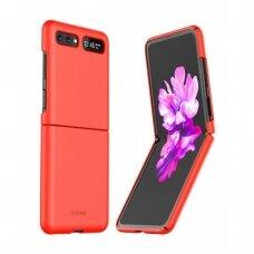 Dėklas Araree Aero Samsung F700 Z Flip Raudonas