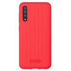 Dėklas Araree Airdome Samsung A505 A50/A507 A50s raudonas UCS031