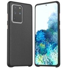 Dėklas Araree Pellis Samsung G986 S20 Plus juodas UCS002