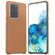 Dėklas Araree Pellis Samsung G986 S20 Plus rudas UCS002