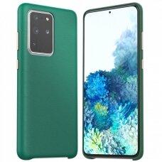 Dėklas Araree Pellis Samsung G986 S20 Plus žalias UCS002