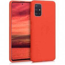 Dėklas Araree Typo Skin Samsung A515 A51 raudonas UCS025