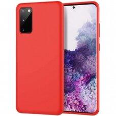 Dėklas Araree Typo Skin Samsung G981 S20 raudonas UCS003