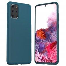 Dėklas Araree Typo Skin Samsung G986 S20 Plus mėlynas UCS002