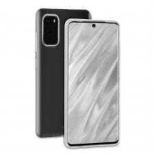 Dėklas Behello Thingel Samsung G981 S20 Skaidrus