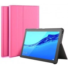 Dėklas Folio Cover Samsung P610/P615 Tab S6 Lite 10.4 rožinis