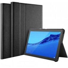Dėklas Folio Cover Samsung T510/T515 Tab A 10.1 2019 juodas