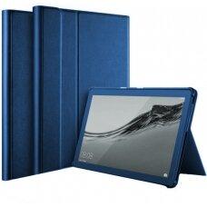 Dėklas Folio Cover Samsung T510/T515 Tab A 10.1 2019 tamsiai mėlynas