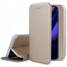 Dėklas Book Elegance Apple iPhone 11 Pro auksinis USC057