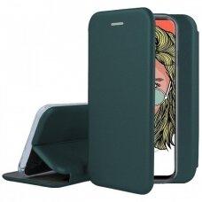 Dėklas Book Elegance Huawei P Smart Pro/Honor 9S Tamsiai Žalias