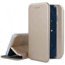 Dėklas Book Elegance Huawei P30 Lite aukso spalvos UCS072