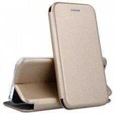 Dėklas Book Elegance Huawei P40 Lite aukso spalvos UCS068