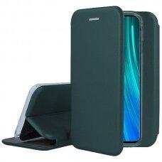Dėklas Book Elegance Huawei P40 Tamsiai Žalias