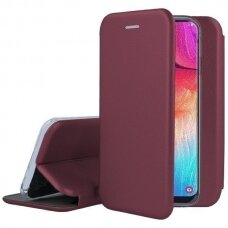 Dėklas Book Elegance Huawei Y5P Bordo