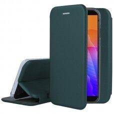 Dėklas Book Elegance Huawei Y5P Tamsiai Žalias