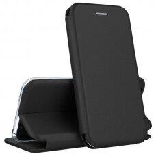 Dėklas Book Elegance Huawei Y6P Juodas