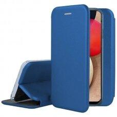Dėklas Book Elegance Samsung A025F A02s tamsiai mėlynas